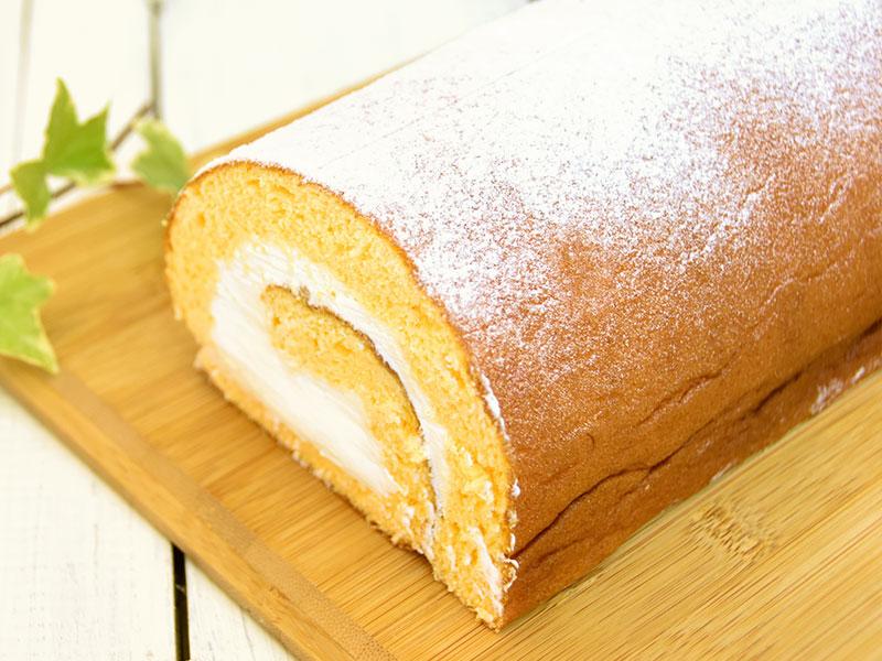 つくば市のケーキ屋さん、パティスリーコモンのロールケーキ